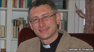 Reverend Dr Peter Rouch. Copyright of WDBF-A Thakor