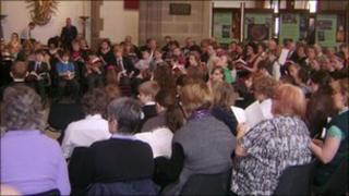 Choristers at Blackburn Cathedral