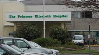 The Princess Elizabeth Hospital entrance