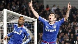 Frank Lampard's penalty completed Chelsea's comeback