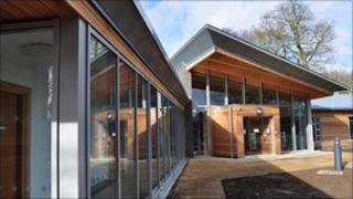 The new EACH Treehouse hospice in Ipswich