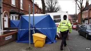 Handsworth crime scene