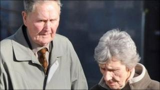 David and Sarah Johnson who are facing charges of unlawfully killing their grand-daughter