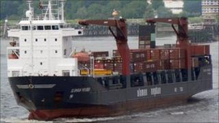 Sloman Provider ship