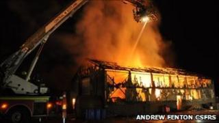 Bonnybridge fire