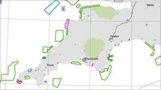 Some of the proposed marine conservation zones