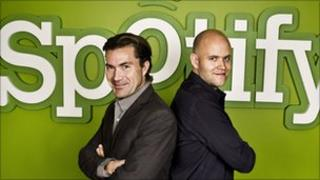 Spotify's co-founders