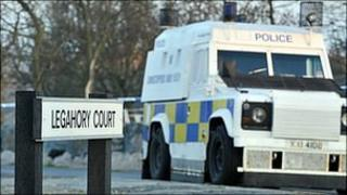 Scene of murder in Craigavon
