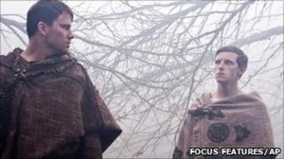 Actor Channing Tatum and Jamie Bell in The Eagle. Pic; Focus Features/AP