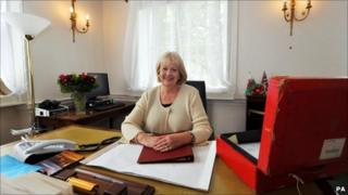 Cheryl Gillan in the Wales Office