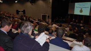 Public meeting in Penryn