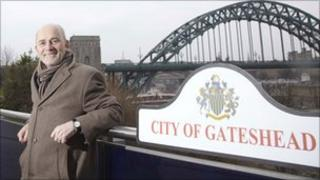 Leader of Gateshead Council Mick Henry