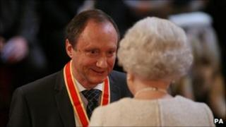 Sir Keith was knighted for services to the Armed Forces