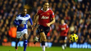 Rio Ferdinand in Premier League action against Birmingham City