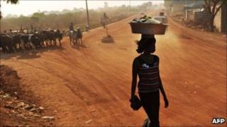 Street in Juba