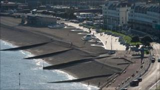 New-look esplanade in Dover