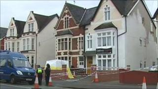 Gwent Police at the Gateway Express hotel in Chepstow Road, Newport