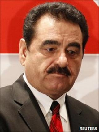 Turkish singer Ibrahim Tatlises in Ankara (7 March 2011)
