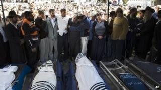 Funeral of Fogel familt on 13 March 2011