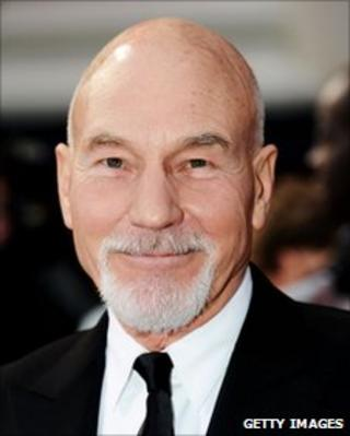 Sir Patrick Stewart attends The Olivier Awards 2011