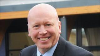 NWMH's chief executive Aidan Thomas