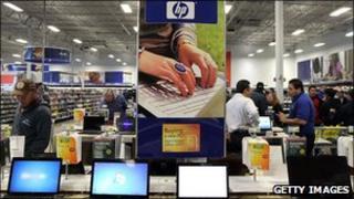 Hewlett Packard laptops