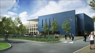 Strood Academy artist's impression