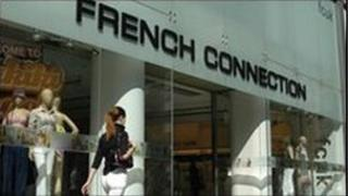French Connection store front