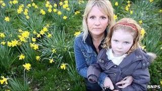 Jane Errington and her daughter Olivia