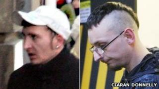 William Williamson and Stuart Hughes were jailed for six years each