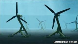 Turbines/Pic: Hammerfest Strom