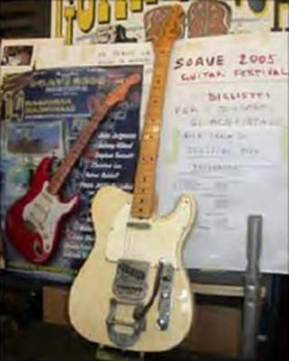 Missing blonde Fender Telecaster 1968