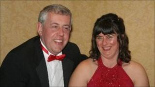 David Twigg and partner Julie Dixon