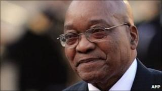 Jacob Zuma (file photo)
