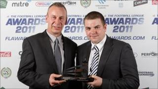Southend United Community and Educational Trust's Steve Goodsell and Ben Duncan