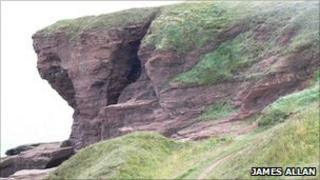 Seaton cliffs. Pic copyright James Allan and licensed for reuse under Creative Commons Licence