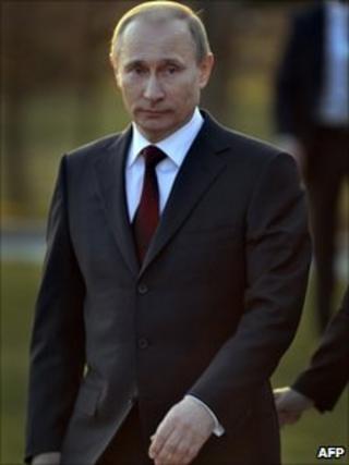 Russian PM Vladimir Putin in Slovenia (22 March 2011)