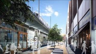 Plan for expanded Broadmarsh Centre in Nottingham