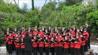 Performing in the Eden Project