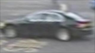 Police image of the BMW