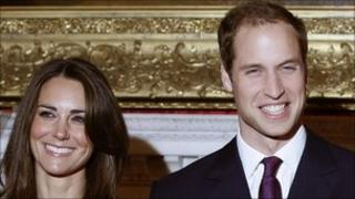 Prince William and Kate Middleton announced their wedding plans in November last year
