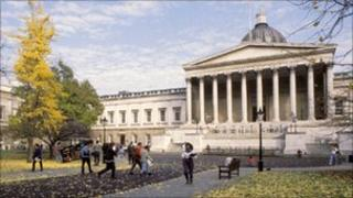 University College London building. Copyright: UCL