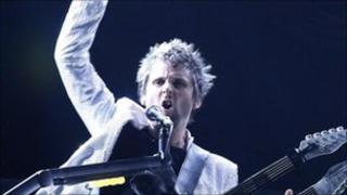 Matt Bellamy from Muse