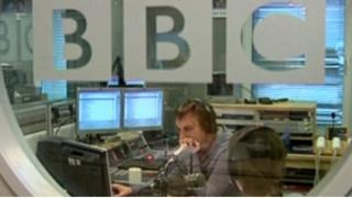 BBC' Russian Service studio in Moscow