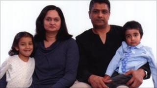 The Afridi family