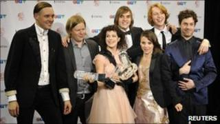 Arcade Fire at the Junos