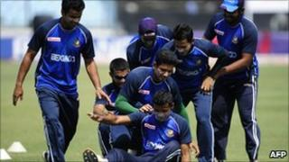 Bangladesh cricket team practice