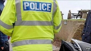 Police officer in Devon
