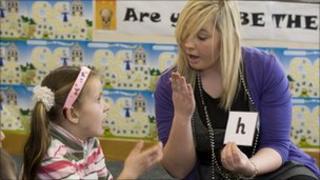 Teacher of the deaf