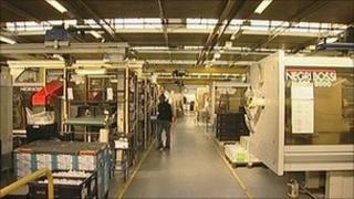 Nifco factory in Stockton